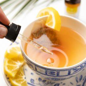Bonfleur CBD Oil Calm Tea Wellness